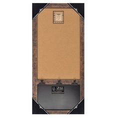 Wood Framed Wall Message Cork Board & Chalk Bulletin Board (Brown) Home Office Collection,http://www.amazon.com/dp/B00J2DRN6U/ref=cm_sw_r_pi_dp_z5dstb1DE2SW7QHB
