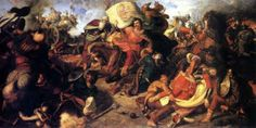 battle of mohacs 1526 - shortly before battle king louis II of hungary decide not to wait for cristoph frankopan help and start fight without him, maybe is that reason of total disaster. Budapest, Ottoman Empire, Battle, History, Painting, Romania, King, Google, Hands