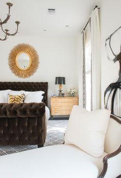 Shabby Slips Design Houston Tx Sleek modern master bedroom