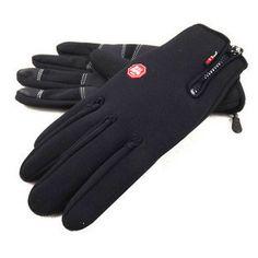 New 2013 Anti-slip Windproof winter Cycling Ski Bike Bicycle Full Long finger warm gloves  XL