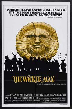 The Wicker Man is a 1973 British film directed by Robin Hardy and written by Anthony Shaffer. The film stars Edward Woodward, Christopher Lee, Diane Cilento, Ingrid Pitt, and Britt Ekland. The film is now considered a cult classic. The story centres on the visit of Police Sergeant Neil Howie to the isolated island of Summerisle, in search of a missing girl. Howie, a devout Christian, finds that the inhabitants practise a form of Celtic paganism.