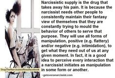 When a narc is being nice, they want something. Never ever ever believe a word they say! It's all a lie to manipulate.