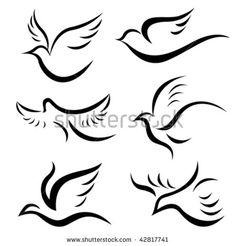 Bird Designs Vector - 42817741 : Shutterstock