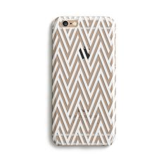 Clear Geometric - Phone Case