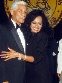 Diana Ross and her father (the now late) Fred Ross, Sr.