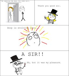 Today, I became a SIR!!