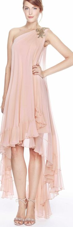 Anthropologie Motif XS Peachy High-low By Hutch Athro Long Casual Maxi Dress Size 2 (XS) Beautiful Gowns, Beautiful Outfits, Cool Outfits, Fashionable Outfits, Gorgeous Dress, Moda Fashion, Pink Fashion, Luxury Fashion, Pink Dress