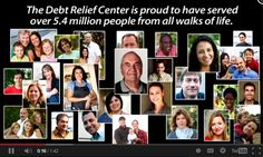 http://debtrelief.digimkts.com   I love this company.   24/7: 866-232-9476  The Debt Relief Center is proud to have served over 5.4 million people from all walks of life.