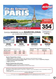 PARIS escapada Avion+2n Hotel AD+ Crucero Sena + Seguro salida BCN desde 354 euros ultimo minuto - http://zocotours.com/paris-escapada-avion2n-hotel-ad-crucero-sena-seguro-salida-bcn-desde-354-euros-ultimo-minuto/