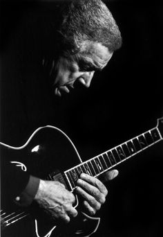 Kenny Burrell:  A silent love affair between a man and his guitar.
