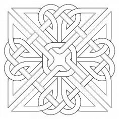 Gaelic Block Sweet Dreams Quilt Studio Happy New Year Celtic Symbols, Celtic Art, Celtic Knots, Celtic Dragon, Quilt Studio, Craft Patterns, Quilt Patterns, Zentangle Patterns, Celtic Stained Glass