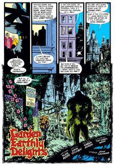 Aterrorizando Gotham City com... plantas.
