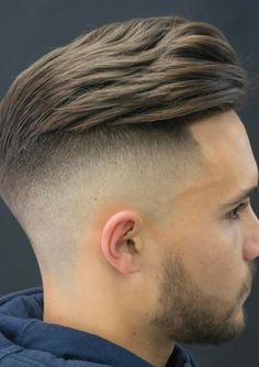 Undercut Mit Ubergang Frisur Manner Modern Nach Hinten Frisuren