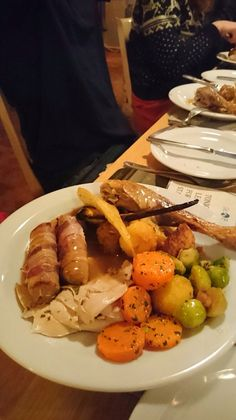 Delicious Christmas dinner! Mmmmmm