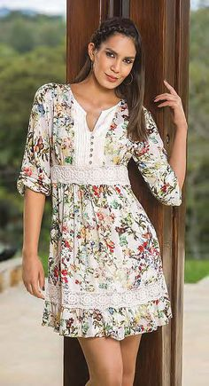 47 Spring Fashion Every Girl Should Try - Daily Fashion Outfits Modest Fashion, Boho Fashion, Fashion Dresses, Spring Fashion, Casual Dresses, Summer Dresses, Elegant Outfit, Boho Dress, Boho Outfits