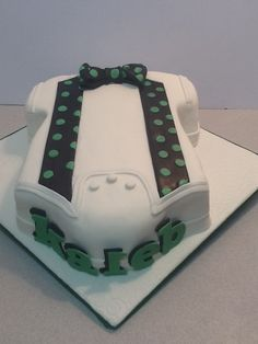 bow tie shower cake - Google Search