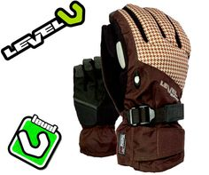LEVEL Bliss Matrix UNDER Ski-Snowboard Handschuhe Glove Gr.9,5 XL Neu -30%