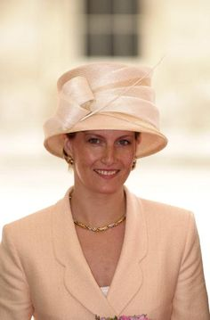 June 27, 2000 - Sophie, Countess Of Wessex attending a luncheon at Guildhall to celebrate the centennial year of the Queen Mother
