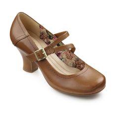Vanessa in Cognac - Spring 2014 - Women's Heels