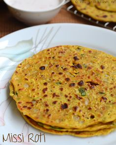 missi-roti-besan-roti - Easy Indian Dinner recipe