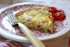 Kate's Place: Easy Ham-Basil Quiche Recipe