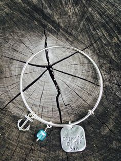 I can go about a month but when it starts to be moth two that I haven't gone to the beach..I just miss it. I'm in need of some vitamin Sea! Dreaming of the sea bangle on sale now at harmoniecuffs.com $19.99  #harmoniecuffs #somegirlsjusthavebeachintheirsoul💙 #dreamingofthesea #anchor #bangle #bracelet #beachlife #sea #surf #waves #surfer #ocean #surfing #california