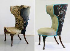 unique upholstery design idea - organic design - andrea mihalik