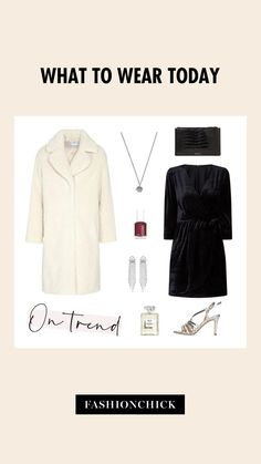 Jouw nieuwe outfit vind je op Fashionchick 🖤 What To Wear Today, How To Wear, Party Looks, Graphic Design Inspiration, Christmas, Outfits, Style, Fashion, Xmas