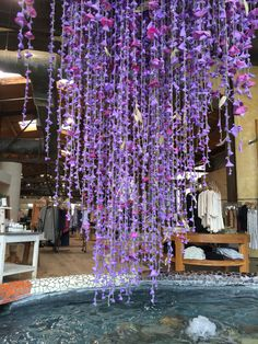 Balloons become Wisteria at Anthropologie--they're always so clever.