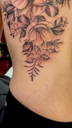 Side Tattoos Women, Dope Tattoos For Women, Shoulder Tattoos For Women, Back Tattoo Women, Sleeve Tattoos For Women, Vine Tattoos, Cancer Tattoos, Body Art Tattoos, Tatoos