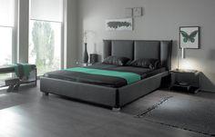 Bett HASENA DELUXE Oasi Mico Caprino Bettgestell, Doppelbett - Wunderschöne Schlafzimmermöbel