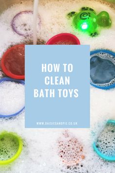 You'd think that bobbing up and down in a bath of soapy water most nights of the week would be enough to keep bath toys clean…. After just a few weeks of use your child& Cleaning Bath Toys, Cleaning Mold, Bathroom Cleaning Hacks, House Cleaning Tips, Kids Bath Toys, Bath Toys For Toddlers, Baby Bath Toys, Mold In Bathroom, Baby Bathroom