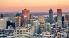 Montreal al atardecer