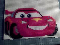 Hama beads Perler Disney Cars McQueen