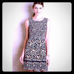 Anthropologie Maeve Brindille Sheath Dress Gorgeous sheath dress by Maeve for Anthropologie with all over floral print and hidden zip. Brand new without tags, size 4. Anthropologie Dresses