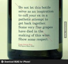 So, show a little respect...