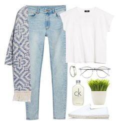 """""""fringe"""" by annamalana ❤ liked on Polyvore featuring Monki, Topshop, MANGO, Wildfox, Calvin Klein and Dot & Bo"""