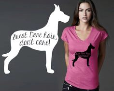 Great Dane | Great Dane Gifts | Dog Shirt | Dog Lover Gift | Custom T-shirts | Personalized T-shirts | Inspirational T-shirt | Korena Loves by KorenaLoves on Etsy