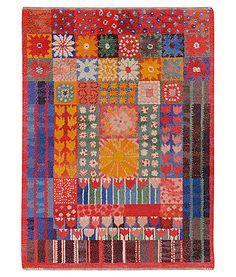 Blommig rya    Dense rya rug    Design: Marianne Richter in 1969    1.30 x 1.65 m