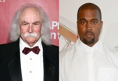 David Crosby hasn't been particularly quiet about his distaste for Kanye West in the past and appearing on 'Watch What Happens Live' Tuesday night he didn't hold back.