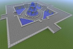 Fountain For Spawn Area