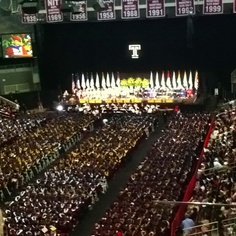 My little brothers graduation at Temple University