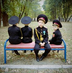 Ukraine's Military Boarding Schools - Photographs and text by Michal Chelbin…