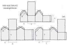 http://designoform.com DIY PAPER HOUSES
