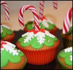 Christmas cupcake..