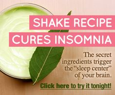 Non Fiction Digital Reading Blog: Quick Insomnia Cure - A Shake Recipe That Cures In...