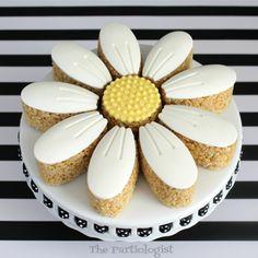 Daisy Rice Krispie Treats!