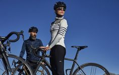 22b93368a Claudette is the long sleeve version of our iconic striped jersey. With a  tailored female