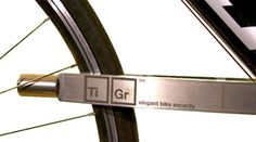 If I had a bike worth stealing, the TiGr lock would be securing it. Clever logo too.