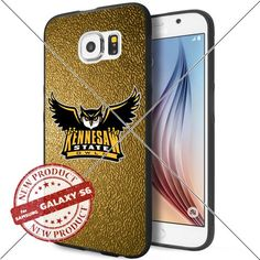 NEW Kennesaw State Owls Logo NCAA #1227 Samsung Galaxy S6 Black Case Smartphone Case Cover Collector TPU Rubber original by WADE CASE [Gold] WADE CASE http://www.amazon.com/dp/B017KVNOJK/ref=cm_sw_r_pi_dp_Kfjywb1419W8M